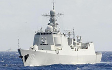 Tàu chiến Trung Quốc đi qua eo biển, Đài Loan xuất kích máy bay