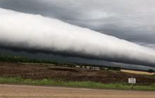 Đám mây lạ làm dân Mỹ xôn xao