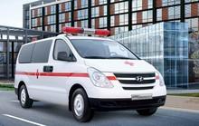 TP HCM: Cả gan trộm cả xe cứu thương