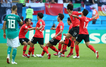 Hàn Quốc tạo đại địa chấn, loại Đức khỏi World Cup