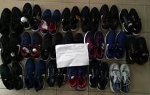 Đủ loại giày dép, quần áo, túi xách hiệu Gucci, Nike, Adidas… bị làm giả