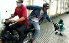 Giật túi xách của du khách, 2 tên cướp ở Phú Quốc té gãy chân