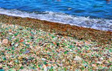 Bãi biển thủy tinh đẹp mê người ở Nhật Bản