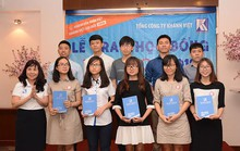 Khatoco: Trao 69 học bổng cho sinh viên vượt khó