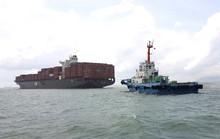 Tàu nước ngoài dài gần 300 m mắc cạn tại Vũng Tàu