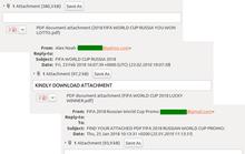 Lợi dụng World Cup 2018, tin tặc tấn công người dùng