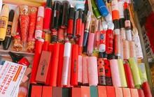 Son môi mác ngoại giá chỉ từ 10.000 đồng bán tràn lan thị trường
