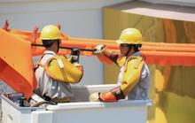 100% công ty điện lực thuộc EVNCPC sửa chữa điện hotline