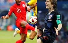 1 giờ ngày 12-7, VTV3: Hấp dẫn trận bán kết Croatia - Anh
