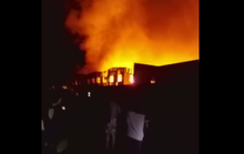 Cháy dữ dội ở phim trường Hoành Điếm, ít nhất 2 người chết