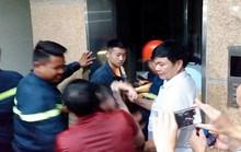 7 trẻ em mắc kẹt trong thang máy Thư viện tỉnh Thanh Hóa