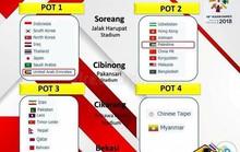 Hy hữu: Indonesia bốc thăm lại ASIAD, Olympic Việt Nam gặp khó