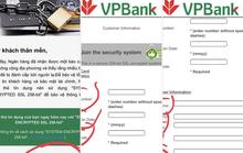 VPBank khẳng định hệ thống hoạt động ổn định