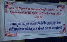 Người Việt ở Lào đang tìm về Attapeu chia sẻ khó khăn