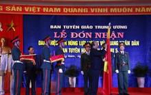 Ban Tuyên huấn Khu ủy Khu V nhận danh hiệu Anh hùng Lực lượng vũ trang