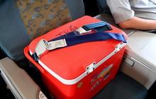 Tạng hiến cứu người ngồi hạng thương gia trên máy bay