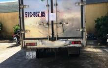 CSGT bắt kẻ trộm xe tải