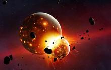 Sao Thiên Vương giá băng vì hành tinh gấp đôi trái đất lao thẳng vào