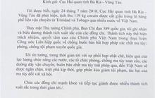 Vụ bắt 100 bánh cocaine: Phó Thủ tướng gửi thư khen Hải quan tỉnh BR-VT