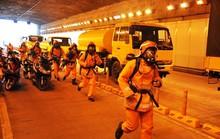 Hầm sông Sài Gòn cấm xe chiều ngày 11 và 12-8