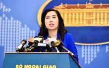 Yêu cầu Trung Quốc chấm dứt ngay hoạt động xâm phạm chủ quyền Việt Nam