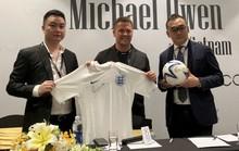 Michael Owen sang Việt Nam ra mắt thương hiệu thời trang riêng