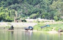 Yêu cầu đình chỉ ngay hoạt động khai thác cát trái phép trên sông Cu Đê