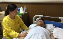 Đại úy CSCĐ bị thiếu nữ tông gãy chân đã được phẫu thuật