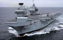 Tàu chiến khủng của Anh tới Mỹ tập trận với siêu chiến đấu cơ