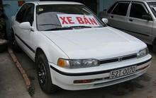 'Trót dại' mua xe cũ, tôi phải bán chịu lỗ