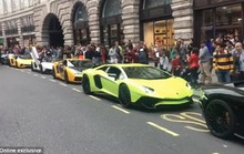 Dân vùng Vịnh lấy máy bay chở siêu xe tới London tránh nóng