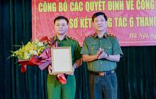 Bộ Công an bổ nhiệm 1 trung tướng làm tư lệnh cảnh sát cơ động