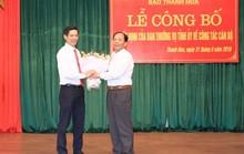 Báo Thanh Hóa có tân tổng biên tập 40 tuổi
