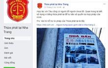 Ngừng lập thừa phát lại ở Khánh Hòa