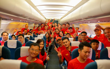 Hơn 300 CĐV bay sớm sang Indonesia tiếp lửa cho Olympic Việt Nam tranh HCĐ