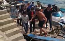 Giải cứu du khách người Anh bị mắc kẹt ở bán đảo Sơn Trà