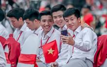 Đốn tim hình ảnh siêu cute của tuyển thủ Olympic Việt Nam