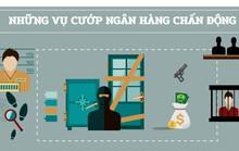 (Infographic) Cướp ngân hàng - Chạy đâu cho thoát!