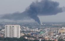 Cháy xưởng gia công chổi lau nhà ở quận 12