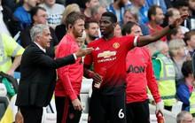 """Bị chỉ trích, Pogba """"bật"""" lại Mourinho"""