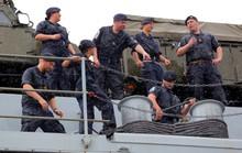 Ngắm tàu đổ bộ HMS Albion của Hải quân Anh đang thăm TP HCM