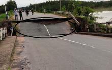 Sập cầu ở Bình Thuận, giao thông đình trệ