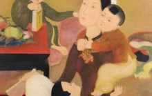Bức tranh Gia đình của Lê Phổ bán với giá gần 750.000 USD