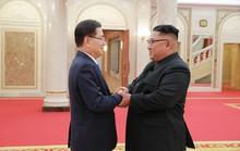 Ông Kim Jong-un tiếp đoàn Hàn Quốc, cam kết phi hạt nhân hóa hoàn toàn