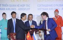 Vietnam Airlines kỷ niệm 25 năm bay đến Nga