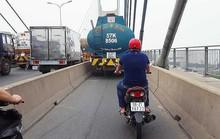 Xử lý xe bồn chạy vào làn xe máy ở Cầu Phú Mỹ thế nào?