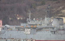 Tàu đổ bộ Nga va chạm tàu hàng