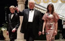 """Ông Trump """"nhắn nhủ"""" lãnh đạo Triều Tiên trong dạ tiệc năm mới"""