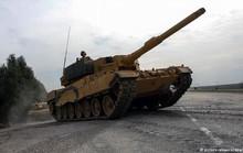 Đức ngồi trên đống lửa vì TNK dùng xe tăng Leopard đánh người Kurd