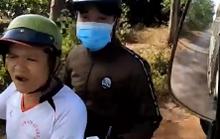 Kết quả xác minh về người lạ mặt gây hấn khi nhà xe quay clip CSGT